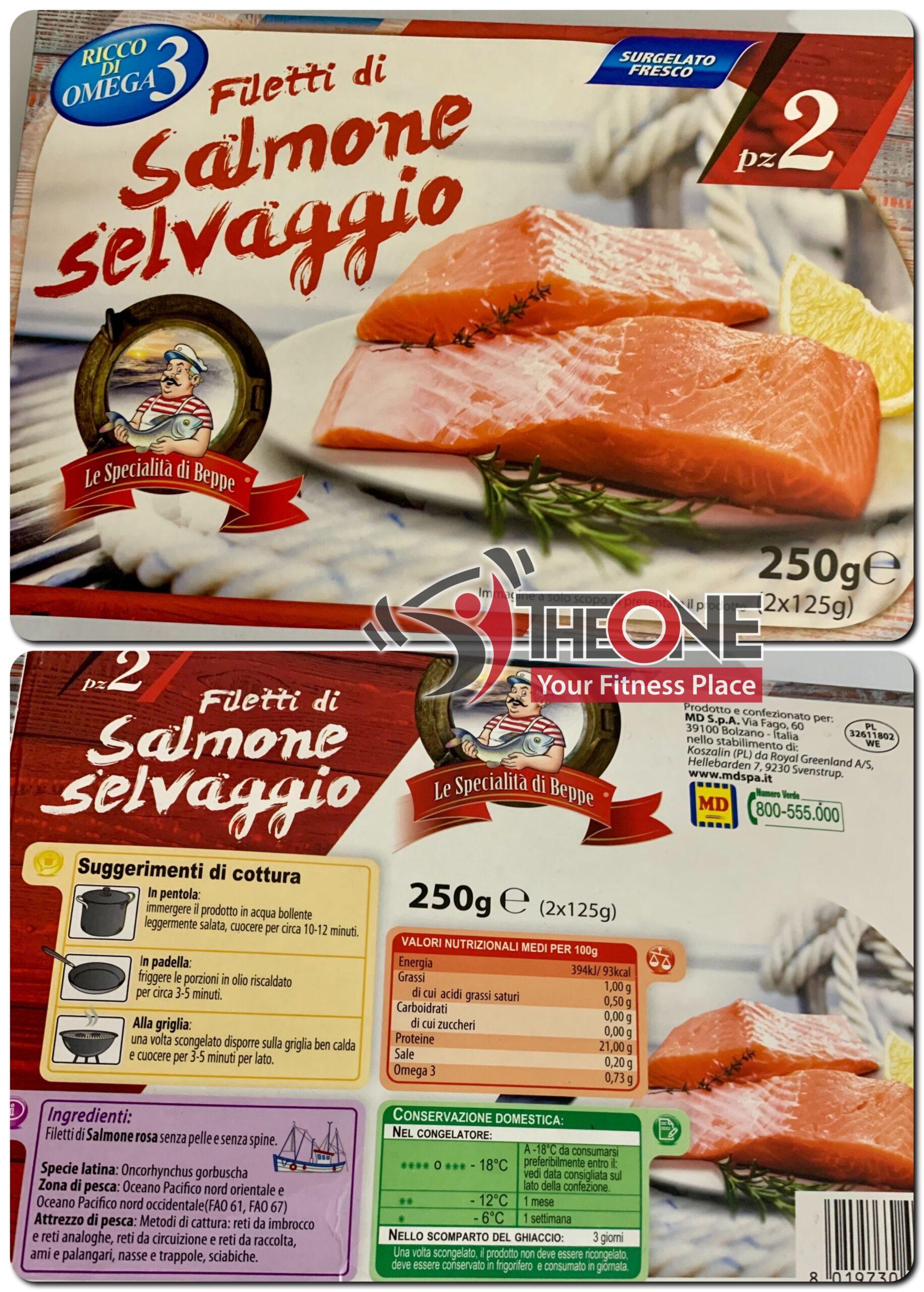 filetto salmone selvaggio - Cosenza