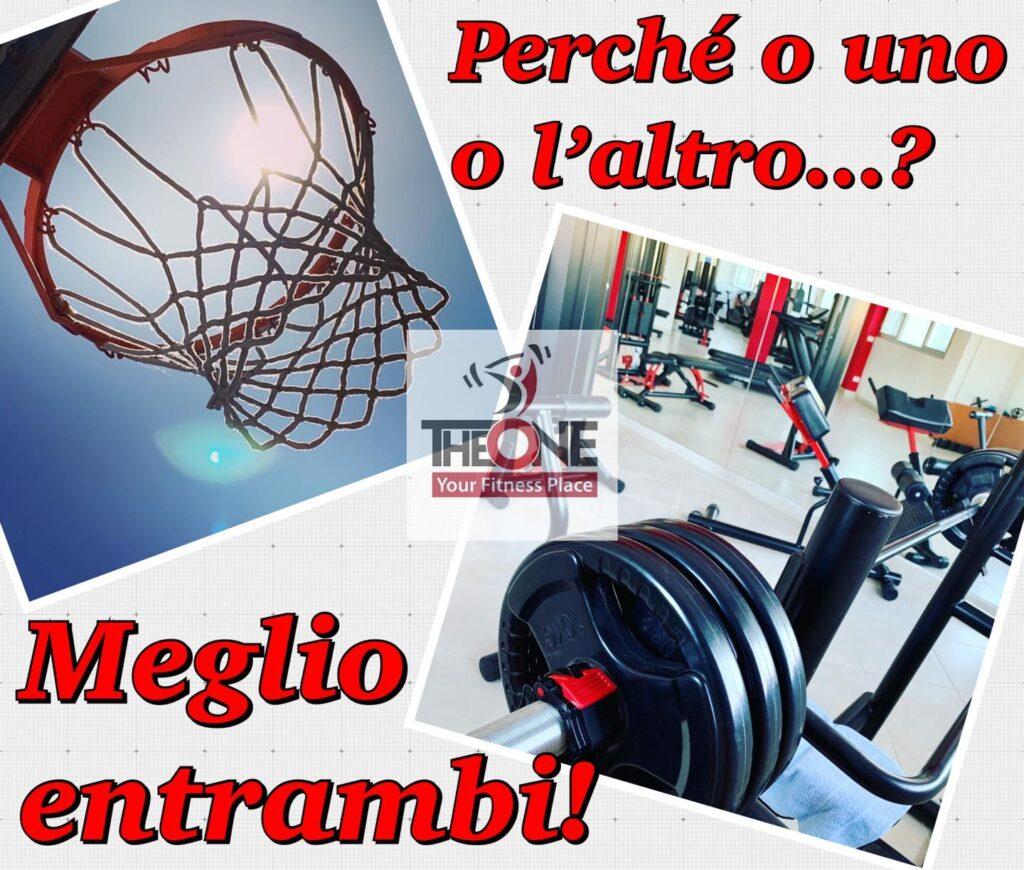 Sala Attrezzi Basket Cosenza